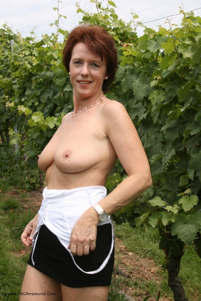 Exhibitionist mature