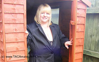 Slut Kelly - Fun in the shed Pt1