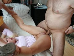 April Love - The Neighbour Beaten and Fucked Movie Video