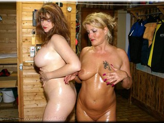 Sheilagirl - Two Hot Girls and Body Oil 2
