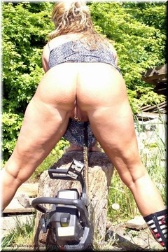 Sheilagirl - Hard Work in the Wood 2 Free Pic 4